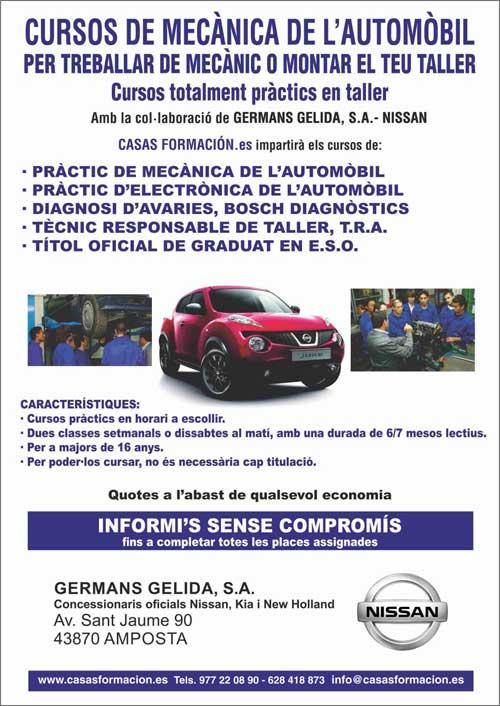 Cursos de mecánica del automóvil en TORTOSA