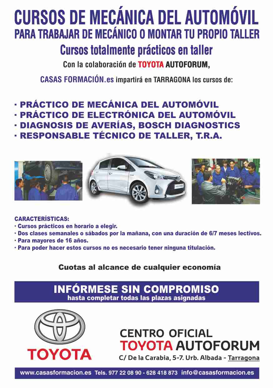 cusos mecanica del automovil Tarragona